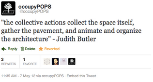 follow @occupyPOPS on twitter